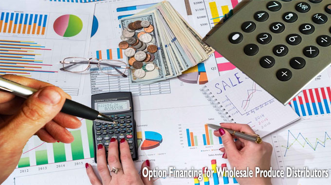 Option Financing for Wholesale Produce Distributors