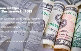 4 Financial Tips for Businesses In 2021